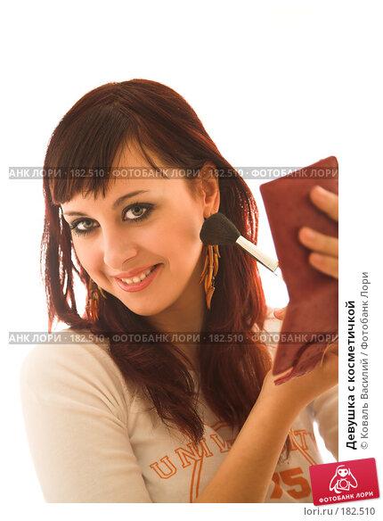 Девушка с косметичкой, фото № 182510, снято 23 ноября 2006 г. (c) Коваль Василий / Фотобанк Лори