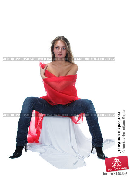 Девушка в красном, фото № 150646, снято 10 октября 2007 г. (c) hunta / Фотобанк Лори