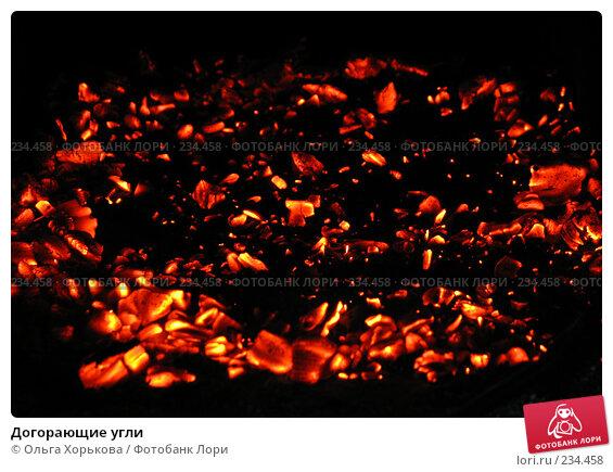 Догорающие угли, фото № 234458, снято 10 декабря 2016 г. (c) Ольга Хорькова / Фотобанк Лори