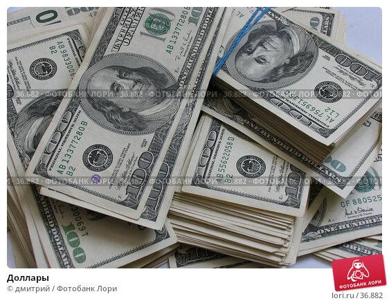 Доллары, фото № 36882, снято 4 декабря 2004 г. (c) дмитрий / Фотобанк Лори