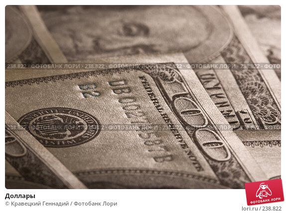 Купить «Доллары», фото № 238822, снято 11 декабря 2017 г. (c) Кравецкий Геннадий / Фотобанк Лори