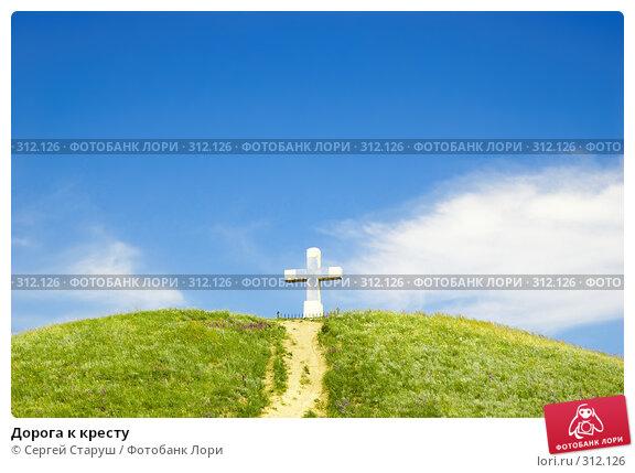 Дорога к кресту, фото № 312126, снято 4 июня 2008 г. (c) Сергей Старуш / Фотобанк Лори