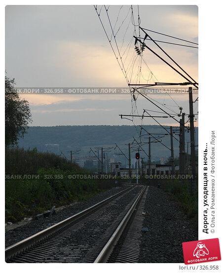 Дорога, уходящая в ночь..., фото № 326958, снято 13 июня 2008 г. (c) Ольга Романенко / Фотобанк Лори