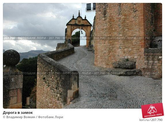 Купить «Дорога в замок», фото № 207790, снято 14 сентября 2004 г. (c) Владимир Воякин / Фотобанк Лори