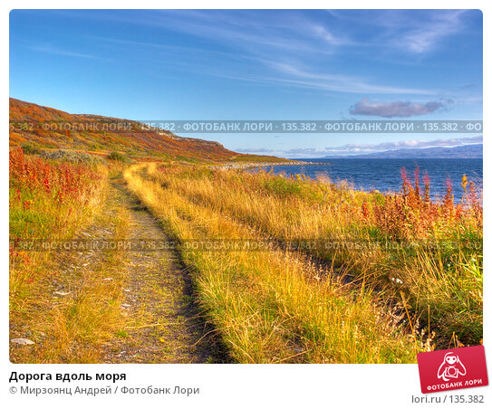 Дорога вдоль моря, фото № 135382, снято 27 марта 2017 г. (c) Мирзоянц Андрей / Фотобанк Лори