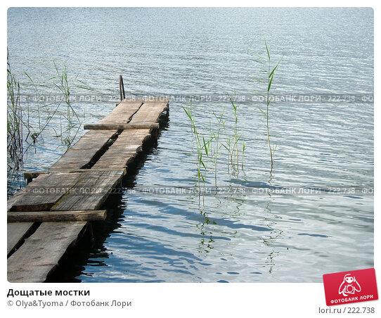 Дощатые мостки, фото № 222738, снято 2 сентября 2005 г. (c) Olya&Tyoma / Фотобанк Лори