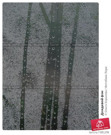 Дождевой фон, фото № 105278, снято 25 июня 2017 г. (c) Ольга Хорькова / Фотобанк Лори