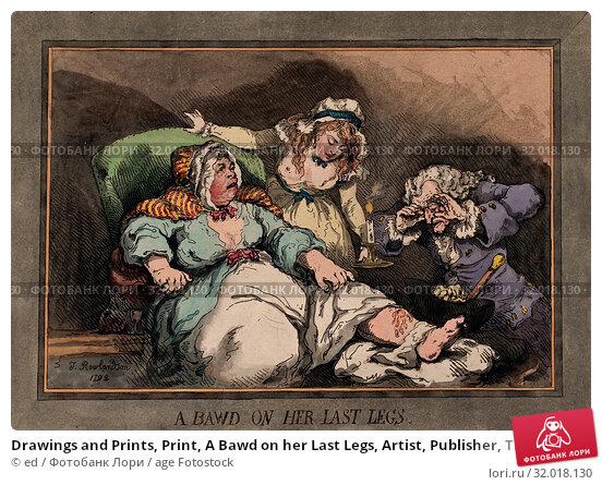 Купить «Drawings and Prints, Print, A Bawd on her Last Legs, Artist, Publisher, Thomas Rowlandson, Samuel William Fores, British, London 1757–1827 London, British...», фото № 32018130, снято 10 апреля 2017 г. (c) age Fotostock / Фотобанк Лори