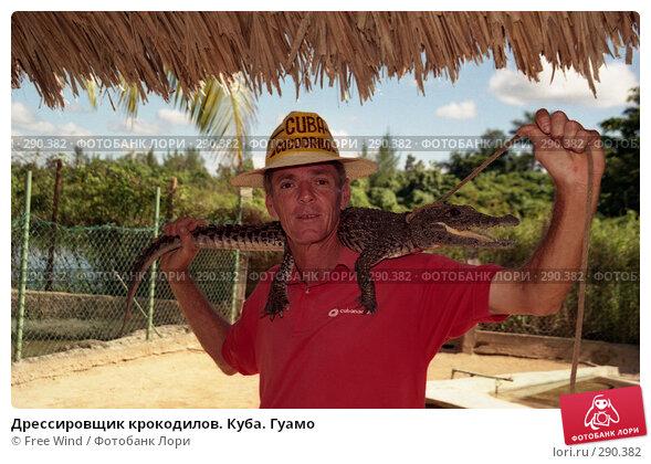 Купить «Дрессировщик крокодилов. Куба. Гуамо», эксклюзивное фото № 290382, снято 19 декабря 2017 г. (c) Free Wind / Фотобанк Лори