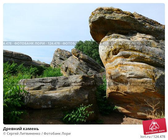 Купить «Древний камень», фото № 124478, снято 17 июня 2007 г. (c) Сергей Литвиненко / Фотобанк Лори