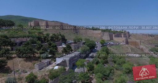 Купить «Древняя крепость в Дербенте. Дагестан. Видео с дрона.», видеоролик № 30807286, снято 26 июня 2016 г. (c) kinocopter / Фотобанк Лори