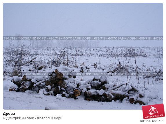 Дрова. Стоковое фото, фотограф Дмитрий Жеглов / Фотобанк Лори