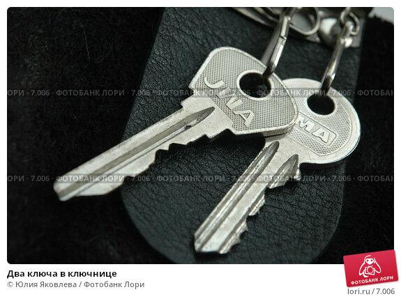 Два ключа в ключнице, фото № 7006, снято 14 июля 2006 г. (c) Юлия Яковлева / Фотобанк Лори