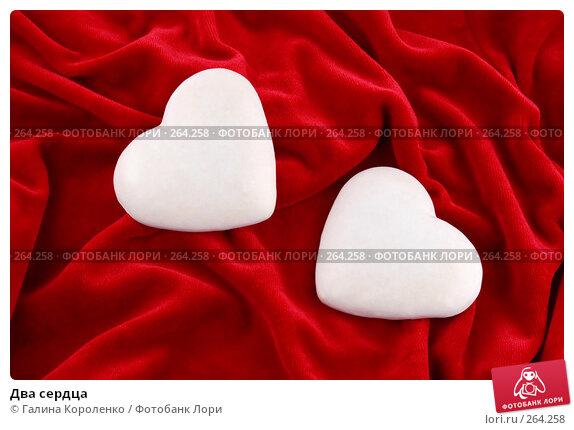 Два сердца, фото № 264258, снято 26 ноября 2007 г. (c) Галина Короленко / Фотобанк Лори