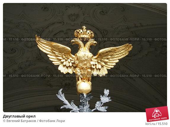 Двуглавый орел, фото № 15510, снято 8 августа 2006 г. (c) Евгений Батраков / Фотобанк Лори
