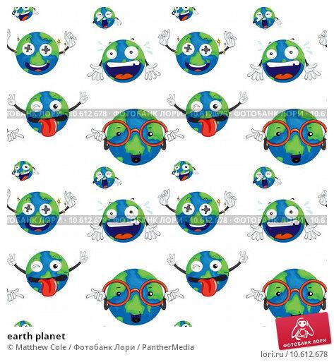 earth planet. Стоковая иллюстрация, иллюстратор Matthew Cole / PantherMedia / Фотобанк Лори