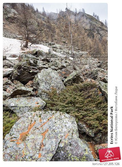 Купить «Ecrins National Park», фото № 27205126, снято 23 апреля 2016 г. (c) Юлия Белоусова / Фотобанк Лори