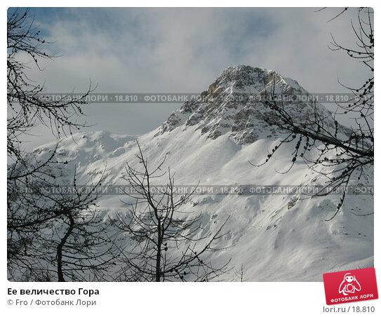 Ее величество Гора, фото № 18810, снято 8 января 2003 г. (c) Fro / Фотобанк Лори