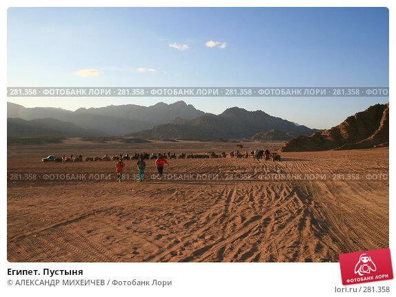 Египет. Пустыня, фото № 281358, снято 19 февраля 2008 г. (c) АЛЕКСАНДР МИХЕИЧЕВ / Фотобанк Лори