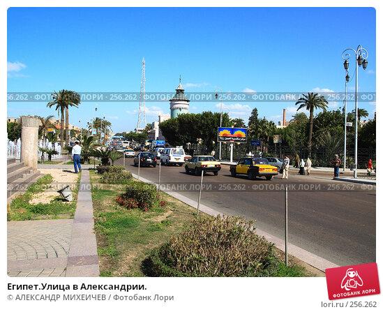 Египет.Улица в Александрии., фото № 256262, снято 26 февраля 2008 г. (c) АЛЕКСАНДР МИХЕИЧЕВ / Фотобанк Лори