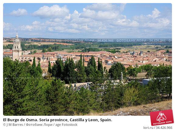 El Burgo de Osma. Soria province, Castilla y Leon, Spain. Стоковое фото, фотограф J M Barres / age Fotostock / Фотобанк Лори