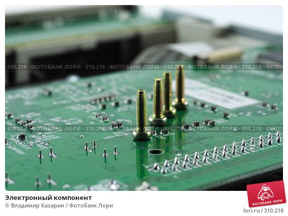 Электронный компонент, фото № 310218, снято 4 июня 2008 г. (c) Владимир Казарин / Фотобанк Лори