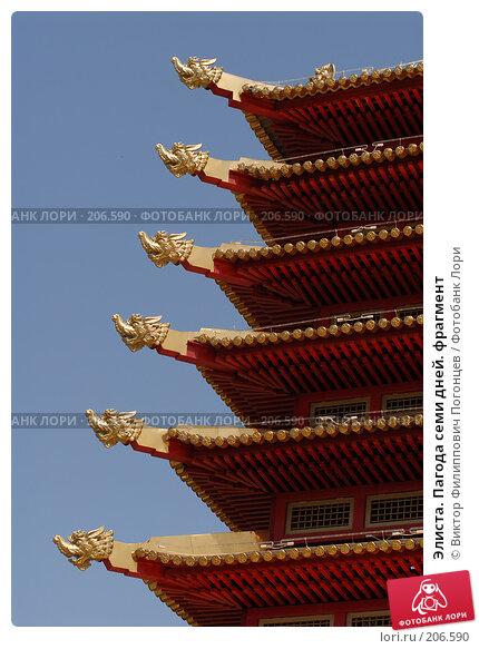 Элиста. Пагода семи дней. фрагмент, фото № 206590, снято 25 мая 2007 г. (c) Виктор Филиппович Погонцев / Фотобанк Лори