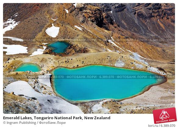 Купить «Emerald Lakes, Tongariro National Park, New Zealand», фото № 6389070, снято 21 февраля 2019 г. (c) Ingram Publishing / Фотобанк Лори
