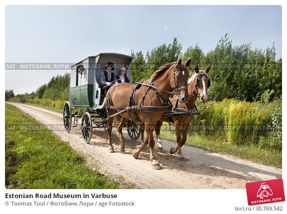 Купить «Estonian Road Museum in Varbuse», фото № 30769542, снято 25 мая 2019 г. (c) age Fotostock / Фотобанк Лори
