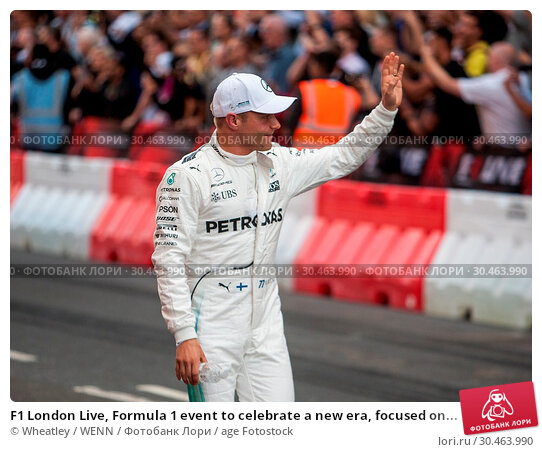 F1 London Live, Formula 1 event to celebrate a new era, focused on... (2017 год). Редакционное фото, фотограф Wheatley / WENN / age Fotostock / Фотобанк Лори
