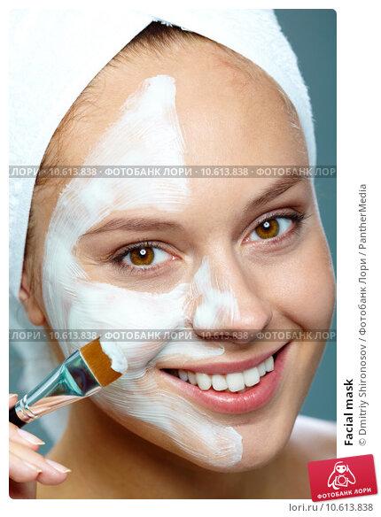 Facial mask. Стоковое фото, фотограф Dmitriy Shironosov / PantherMedia / Фотобанк Лори