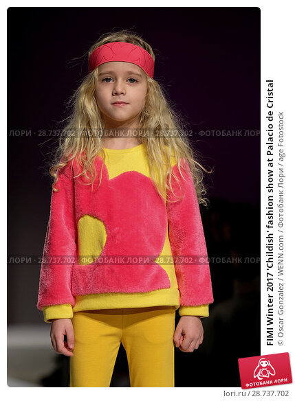 Купить «FIMI Winter 2017 'Childish' fashion show at Palacio de Cristal Featuring: Model Where: Madrid, Spain When: 20 Jan 2017 Credit: Oscar Gonzalez/WENN.com», фото № 28737702, снято 20 января 2017 г. (c) age Fotostock / Фотобанк Лори