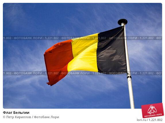 Флаг Бельгии (2008 год). Стоковое фото, фотограф Петр Кириллов / Фотобанк Лори