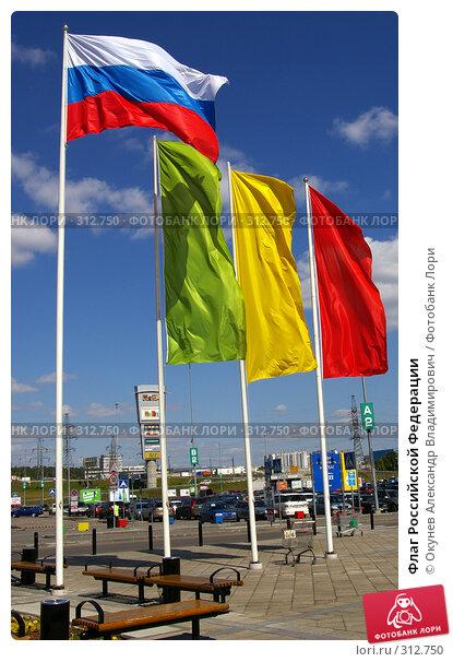 Флаг Российской Федерации, фото № 312750, снято 5 июня 2008 г. (c) Окунев Александр Владимирович / Фотобанк Лори