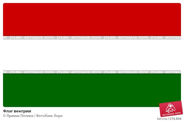 Флаг венгрии, фото № 274894, снято 6 апреля 2008 г. (c) Примак Полина / Фотобанк Лори