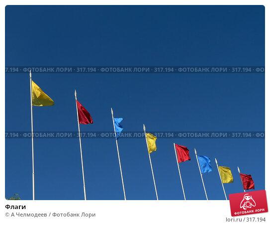 Флаги, фото № 317194, снято 28 июля 2006 г. (c) A Челмодеев / Фотобанк Лори
