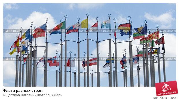 Флаги разных стран, фото № 310054, снято 3 июня 2008 г. (c) Цветков Виталий / Фотобанк Лори