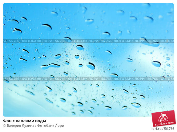 Купить «Фон с каплями воды», фото № 56766, снято 30 июня 2007 г. (c) Валерия Потапова / Фотобанк Лори