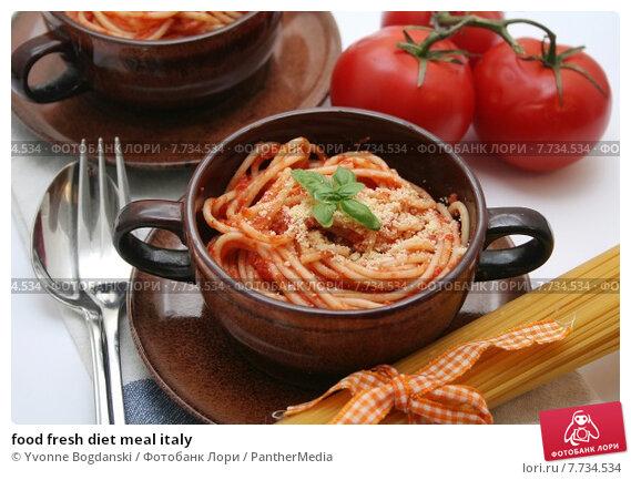 Купить «food fresh diet meal italy», фото № 7734534, снято 22 июля 2019 г. (c) PantherMedia / Фотобанк Лори