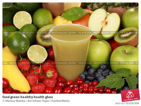 food green healthy health glass. Стоковое фото, фотограф Markus Mainka / PantherMedia / Фотобанк Лори