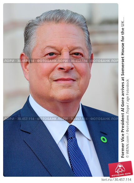 Former Vice President Al Gore arrives at Somerset House for the UK... (2017 год). Редакционное фото, фотограф WENN.com / age Fotostock / Фотобанк Лори