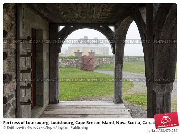 Купить «Fortress of Louisbourg, Louisbourg, Cape Breton Island, Nova Scotia, Canada», фото № 28479254, снято 13 июня 2016 г. (c) Ingram Publishing / Фотобанк Лори