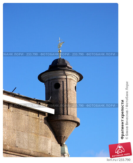 Фрагмент крепости, фото № 233790, снято 26 февраля 2008 г. (c) Бяков Вячеслав / Фотобанк Лори
