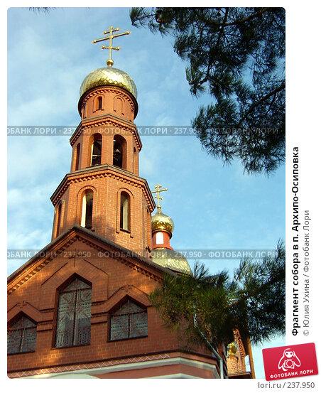 Фрагмент собора в п. Архипо-Осиповка, эксклюзивное фото № 237950, снято 8 декабря 2016 г. (c) Юля Ухина / Фотобанк Лори