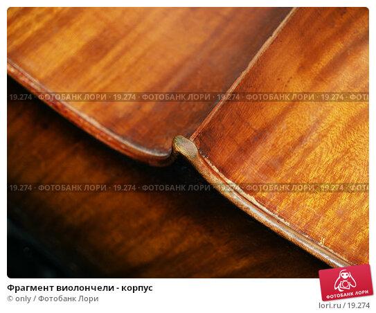 Фрагмент виолончели - корпус, фото № 19274, снято 10 ноября 2005 г. (c) only / Фотобанк Лори