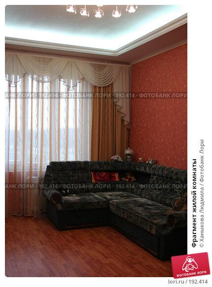 Фрагмент жилой комнаты, фото № 192414, снято 2 февраля 2008 г. (c) Ханыкова Людмила / Фотобанк Лори