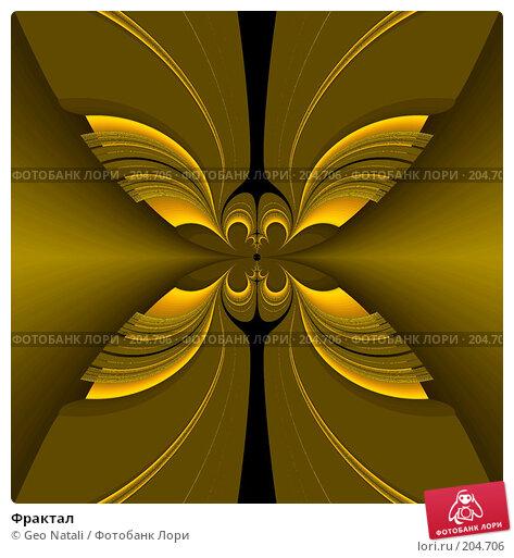 Купить «Фрактал», иллюстрация № 204706 (c) Geo Natali / Фотобанк Лори