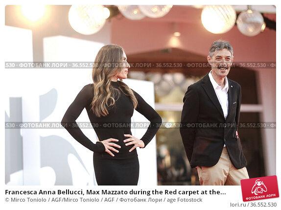 Francesca Anna Bellucci, Max Mazzato during the Red carpet at the... Редакционное фото, фотограф Mirco Toniolo / AGF/Mirco Toniolo / AGF / age Fotostock / Фотобанк Лори