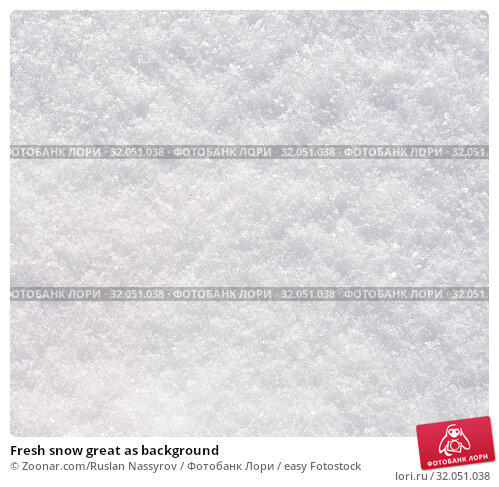 Fresh snow great as background. Стоковое фото, фотограф Zoonar.com/Ruslan Nassyrov / easy Fotostock / Фотобанк Лори