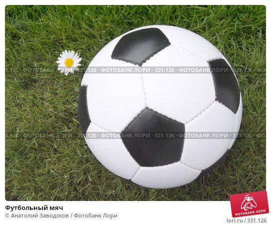 Футбольный мяч, фото № 331126, снято 22 июня 2008 г. (c) Анатолий Заводсков / Фотобанк Лори